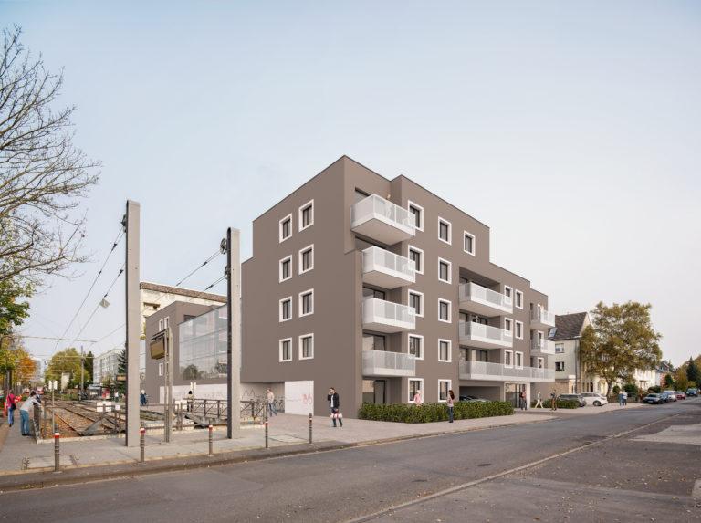 Neubauung am Hermeskeiler Platz_Köln