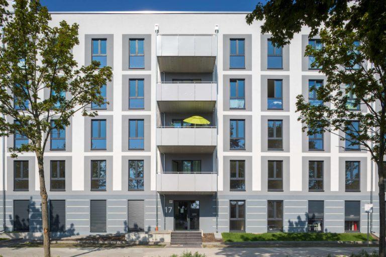 Wohnbebauung Genslerstraße